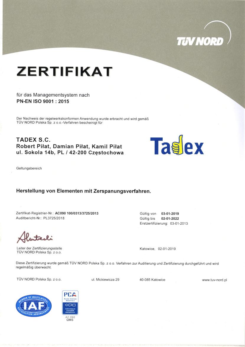 PN-EN ISO 9001:2015 - lang DE