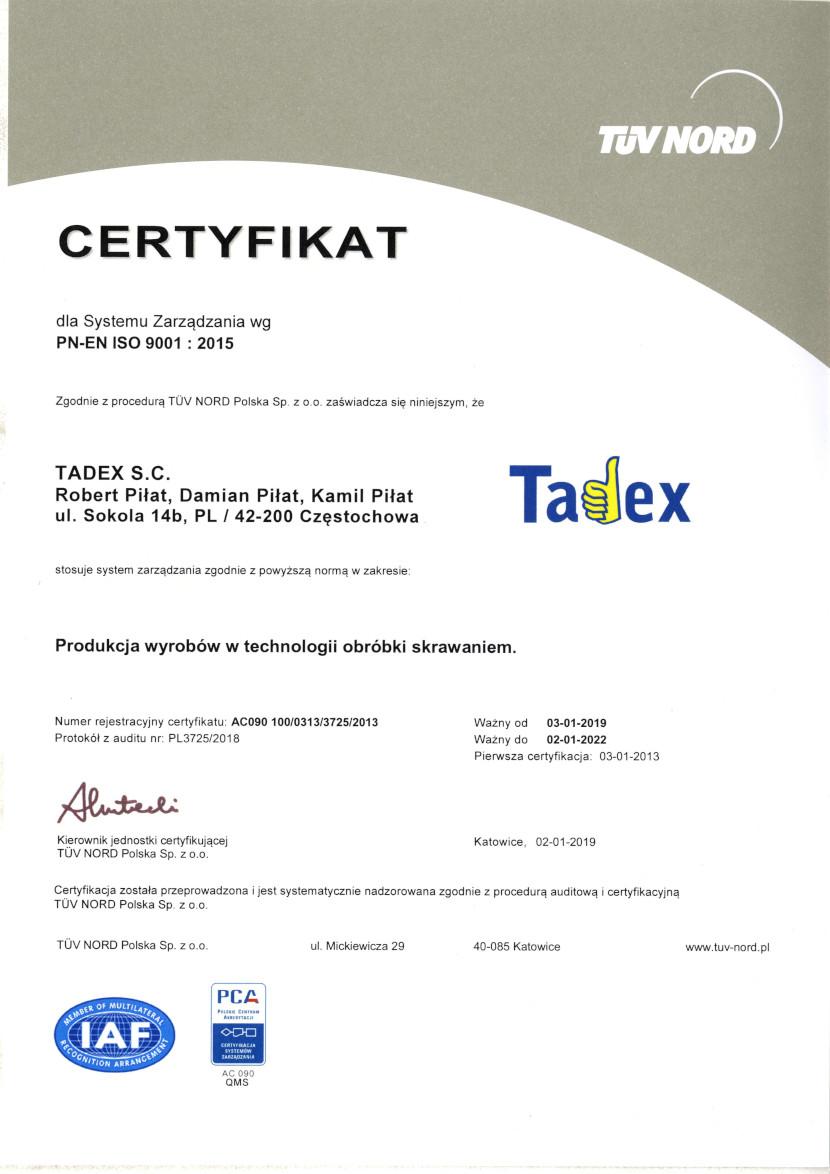 PN-EN ISO 9001:2015 - lang PL