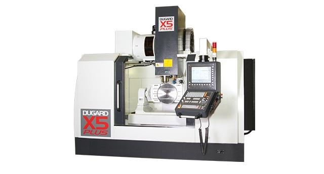 Frezowanie CNC detali o wysokim poziomie skomplikowania maszyną Dugard X5 Plus