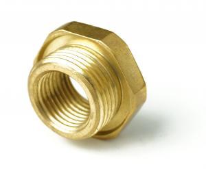 Element z mosiądzu wykonany metodą obróbki CNC