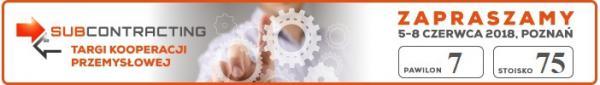 Targi Kooperacji Przemysłowej - Subcontracting 2018